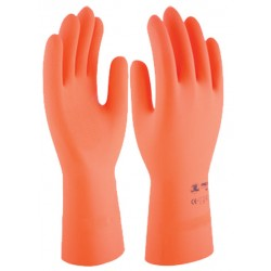 GUANTE LATEX NAT.FLOCADO PROTEX HD35 TALLAS 8-10