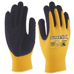 GUANTE LATEX NYLON SUPERTEX SL010 TALLAS 7-10