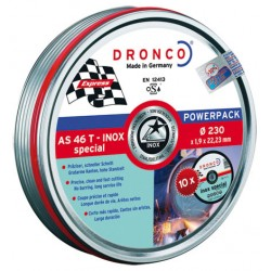 DISCO DRONCO AS46TINOX 230X1,90X22,2PACK