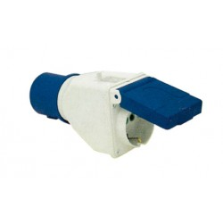 ADAPTADOR BASE 1173102 2PT+T/SCH 16A