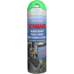 SPRAY MARCADOR ECOMARK VERDE 500ML