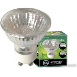 LAMPARA HALOGENA DICROICA 230V GU10 50W