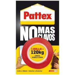 PATTEX NO+CLAVOS 12CINTA D.CARA1403701