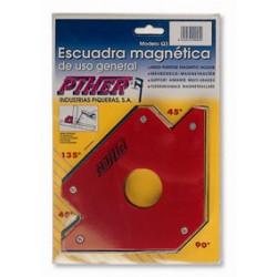 ESCUADRA Q-2 MEDIANA 110MM MAGNETICA
