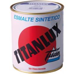 PINTURA ESMALTE TITANLUX BCO.EXT.750ML
