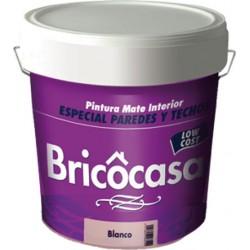 PINTURA PLAST.BRICOCASA BCO.MATE INT.15K