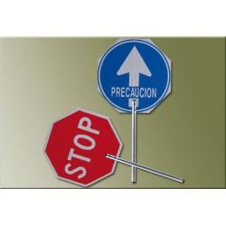 PALETA STOP-PASO 4055 MANGO ALUMINIO