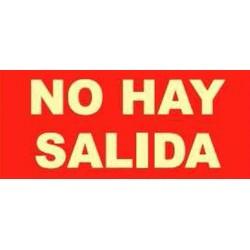 SEÑAL FOTOLUMINES.NO HAY SALIDA EV135