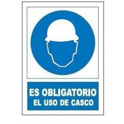 SEÑAL OBLIGATORIA USO CASCO SO800