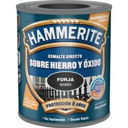 HAMMERITE METALICO FORJA 750ML NEGRO GRIS