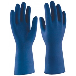 GUANTE LATEX DESEC.LP BLUE 1300 CAJA DE 50