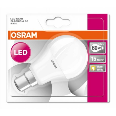 LÁMPARA LED OSRAM 9,5W